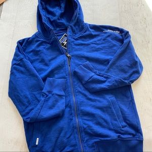 SCOTCH & SODA Men's zip up hoodie Sz L